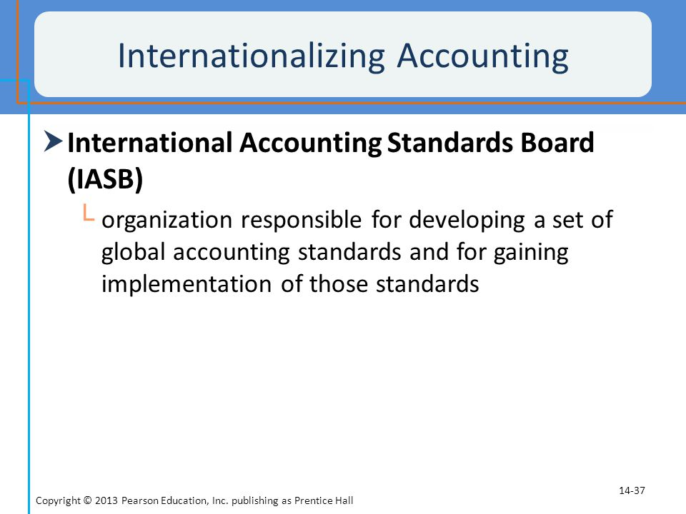 Internationalizing Accounting