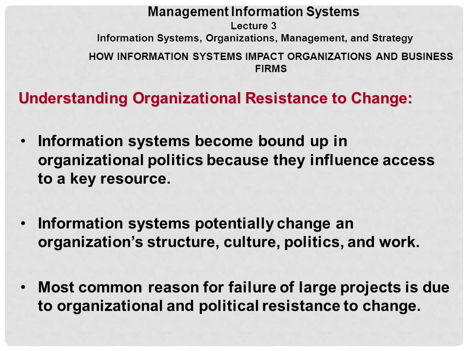 understanding and managing resistance to organizational change management essay Resistance to change paper essay when it comes to organizational resistance to change this has to be done very carefully the model represents a very simple and practical model for understanding the change process (2014).