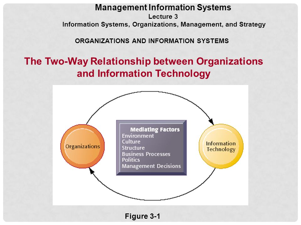 relationship between organization and information system information technology essay This study delineates subtle distinctions in organization, management and administration which may be equally important for organizers, managers and administrators of all types of institutions and enterprises- either academic, business, industrial or learned, and the study may be useful and applicable not only to library and information science, but also to management public administration.