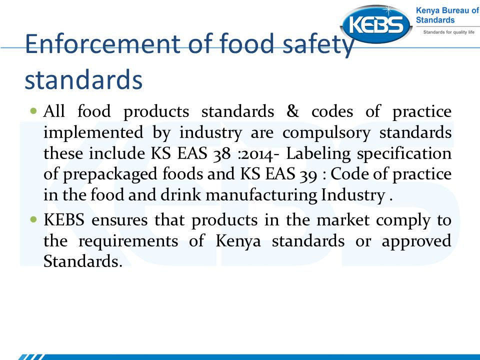 food and safety standards Easily complete the required training, meet compliance needs and earn  osha  500 - trainer course in osha standards for construction.