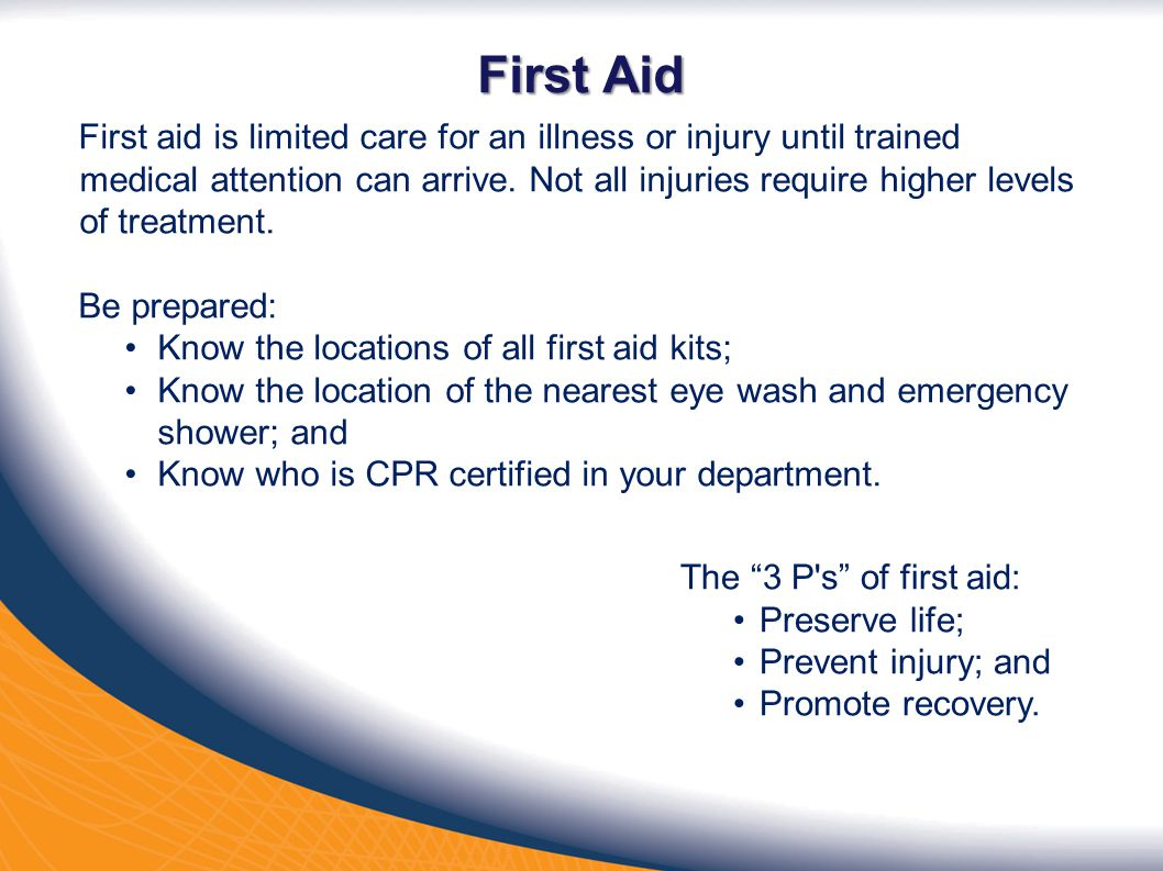 Safety orientation ppt video online download 30 first xflitez Choice Image