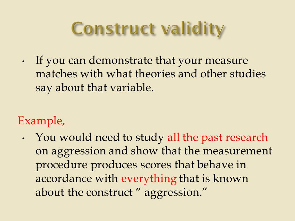 reliability and validity paper essay 'reliability' and 'validity' - two words that almost always crop up when discussing and analysing scientific research  reliability vs validity.