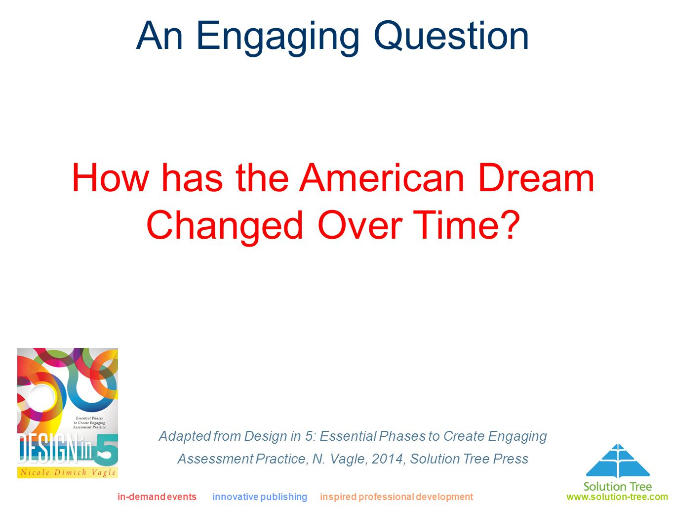 how has the american dream changed over time essay How to achieve the american dream print the definition of the american dream has changed over the course the time has come to bridge the growing divide.