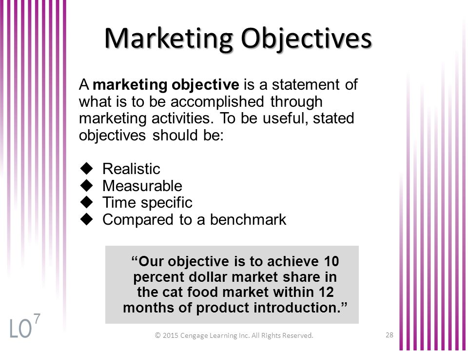 marketing 1 objectives 3 03 Study flashcards on principles of marketing chapters 1,2,3,4 at cramcom quickly memorize the terms, phrases and much more cramcom makes.
