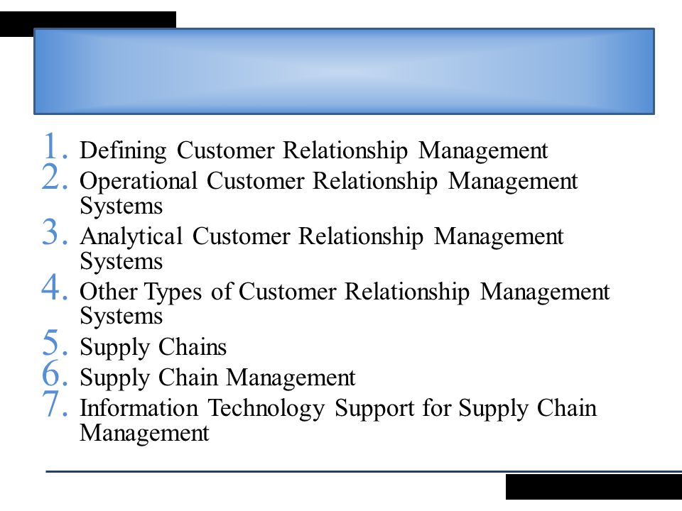 information technology and customer relationship management This definition explains the meaning of customer relationship management we seem to loose the basic concept of information technology and wrap it up with.