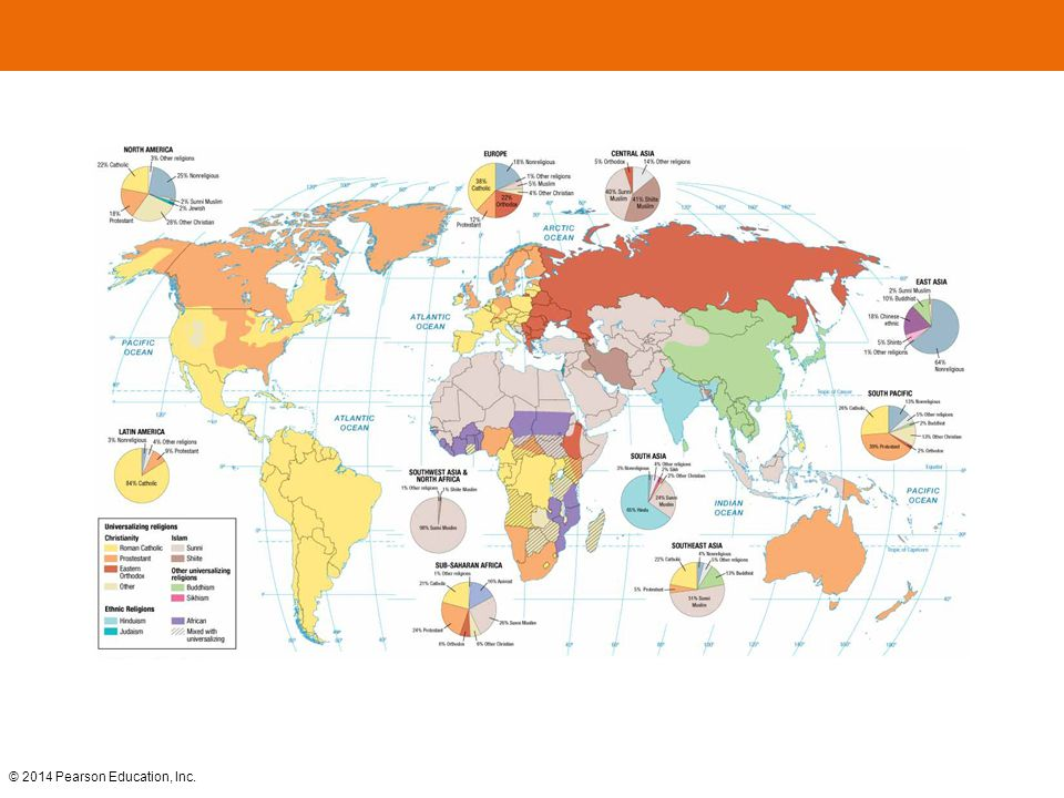 Which Of The Following Is Not A Universalizing Religion Ppt - Religion map of world 2014