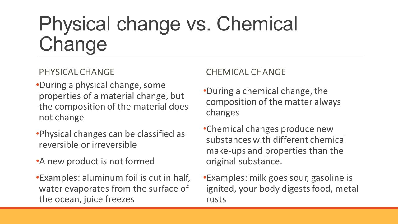 when water freezes is it a physical or chemical change Worksheet answers: physical and chemical changes 1 label each process as a physical or chemical change:  which of the following would not be a physical change a freezing water to make ice cubes  the exposion which throws pieces of the bomb about is a physical change, the chemical reacting inside the bomb (which produces the heat.