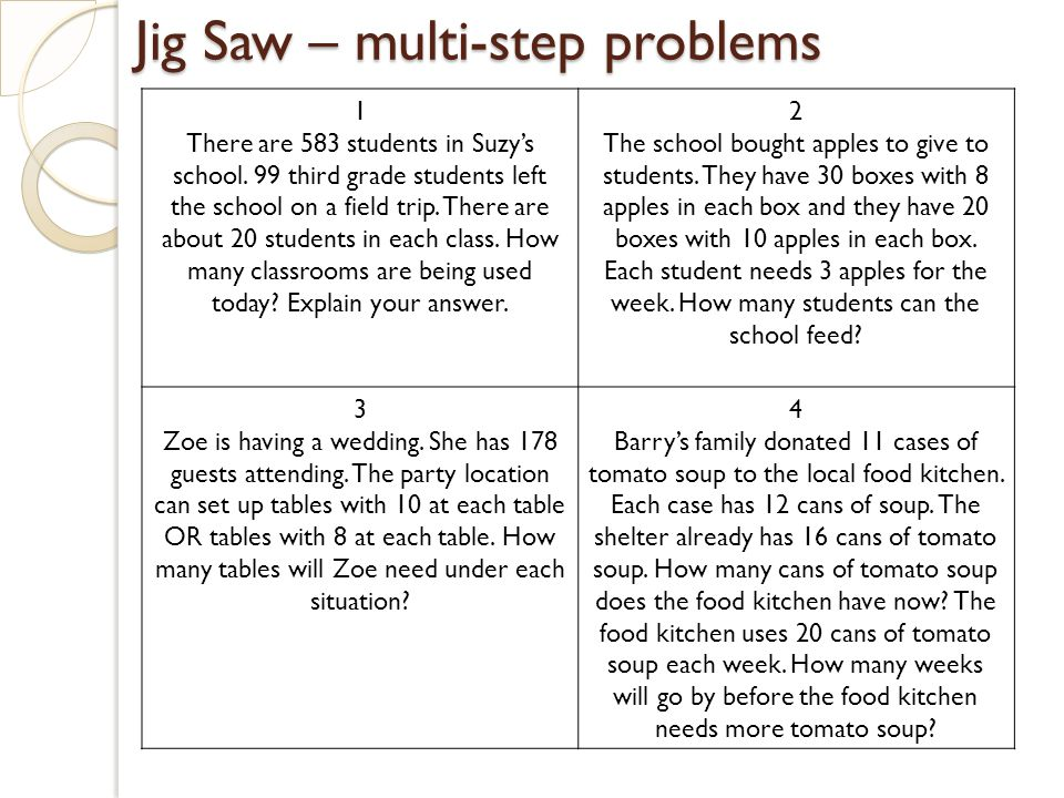 math word problems for 3rd graders Spaces and for the third  multistep word problems the student text includes some fairly simple two step word problems some students may be ready for more.