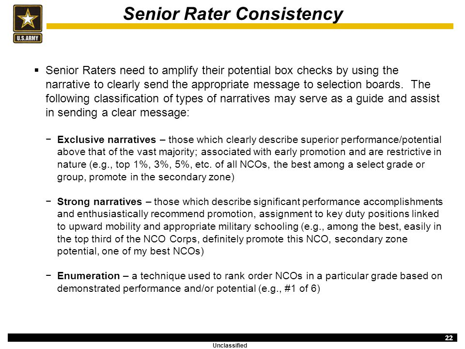 New Ncoer Senior Rater Comments - 0425