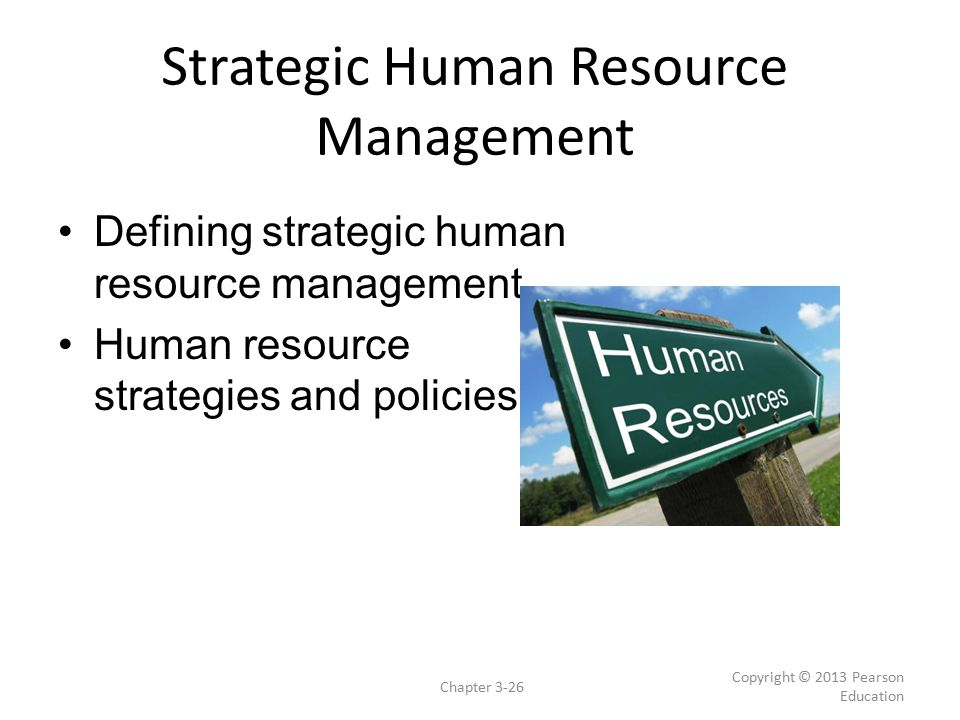 human resource strategy It is crucial to the development of a human resource strategy to have a clear vision for the company the hr strategy, while a driving force of the company.