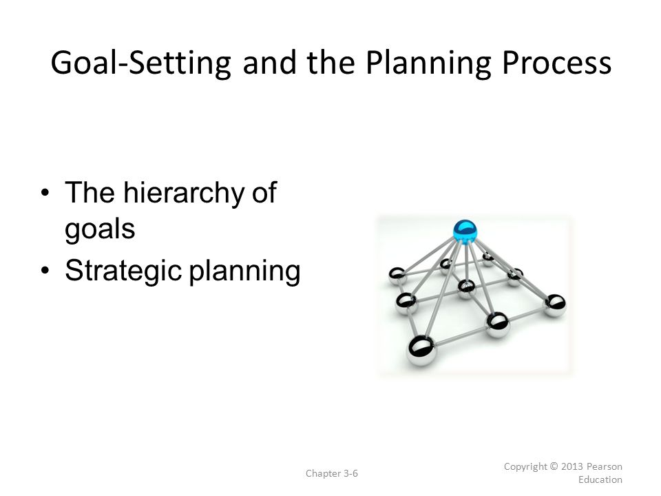 Goal-Setting and the Planning Process