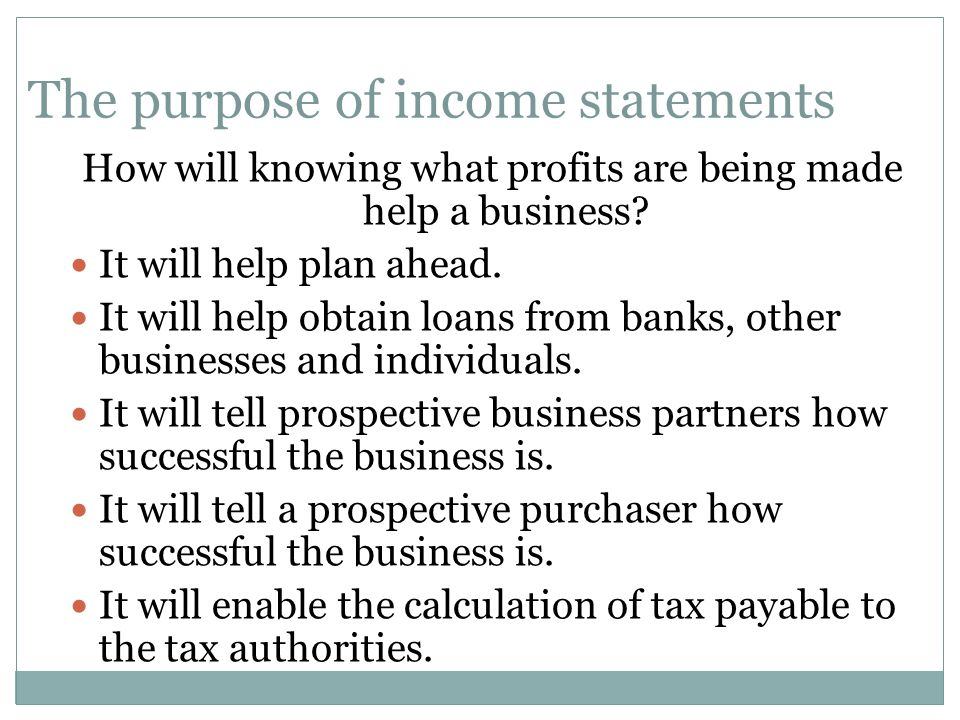 Chapter  Income Statements An Introduction  Ppt Download