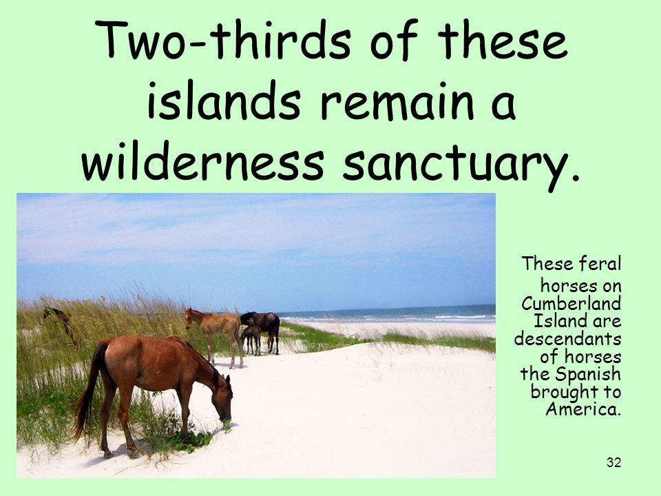 Two-thirds of these islands remain a wilderness sanctuary.