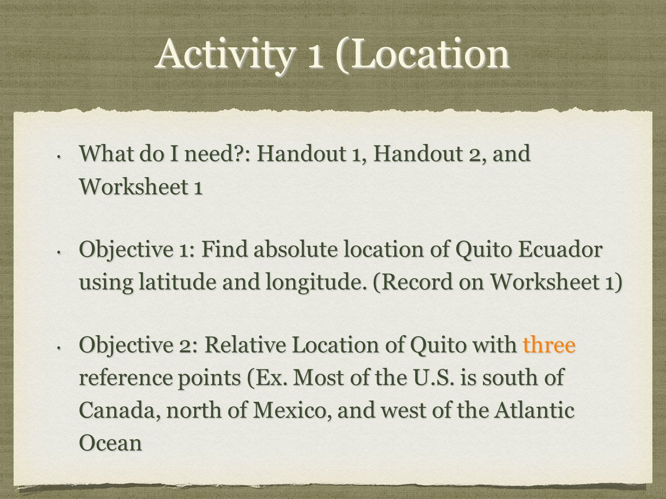 5 themes of Geography of Ecuador ppt download – 5 Themes of Geography Worksheets