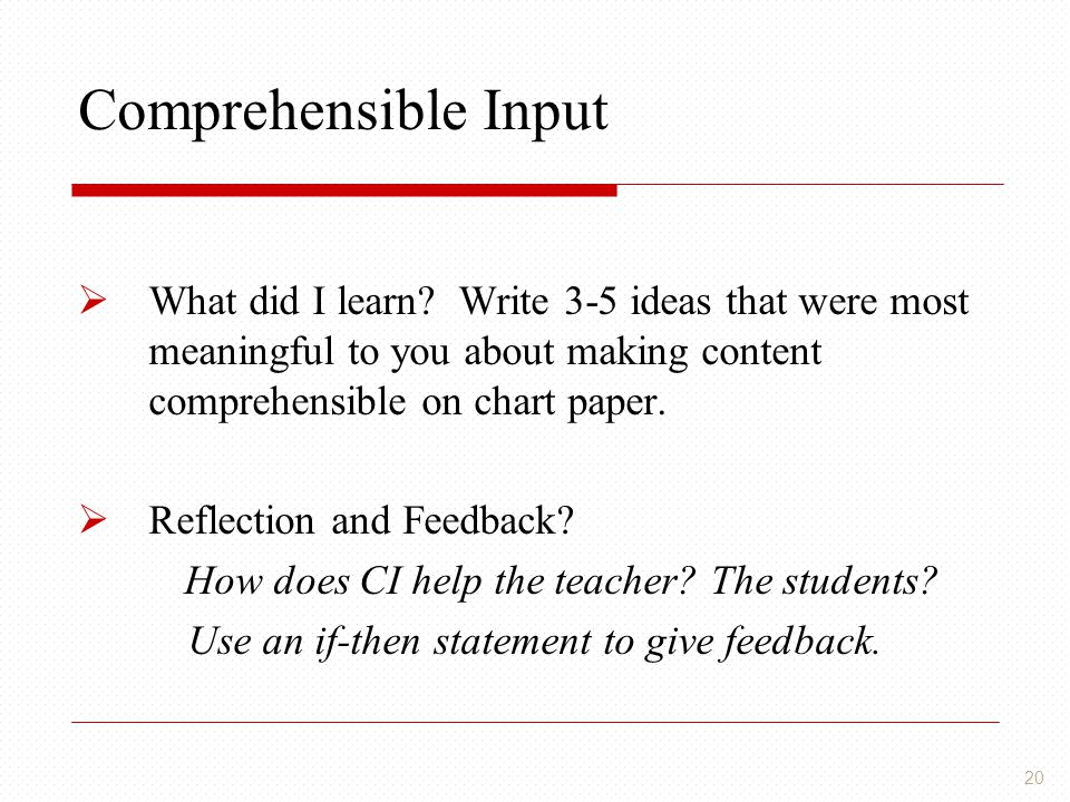Use an if-then statement to give feedback.