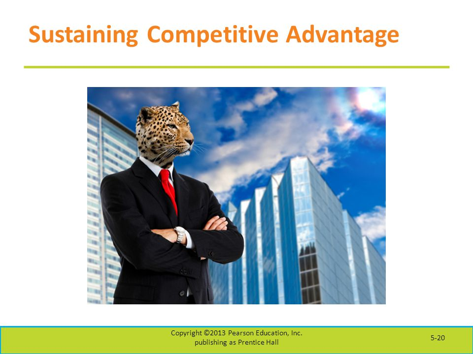 Sustaining Competitive Advantage
