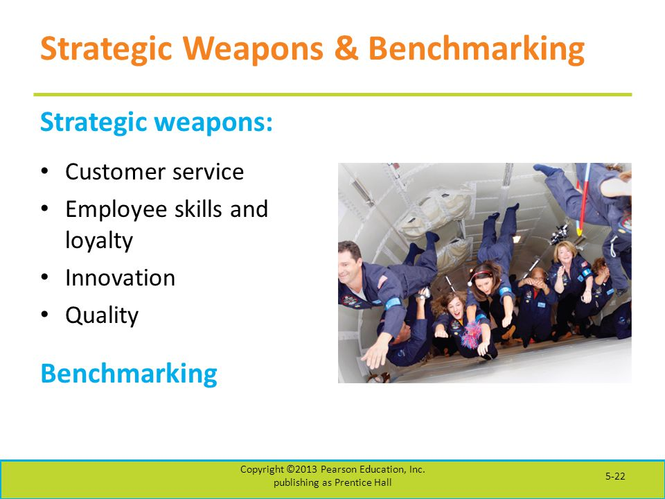 Strategic Weapons & Benchmarking