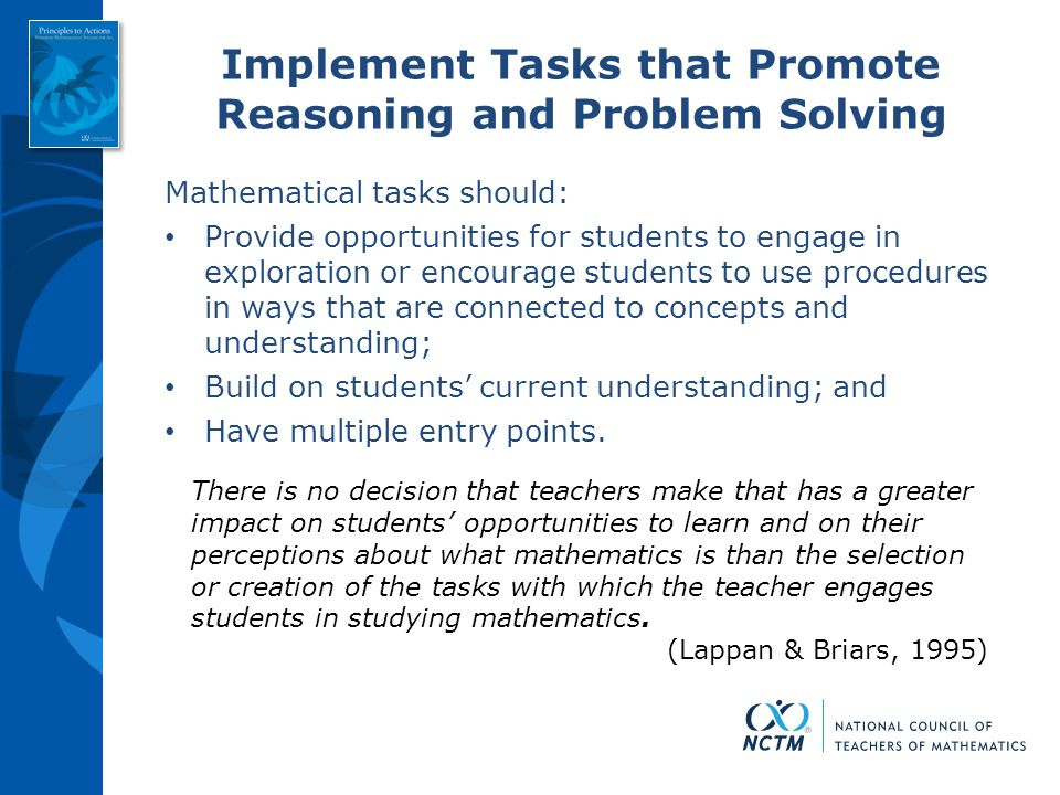 essay on problem solving in mathematics Introduction what is a problem in mathematics types of mathematical problems (word and process) research on mathematical problem solving polyas.