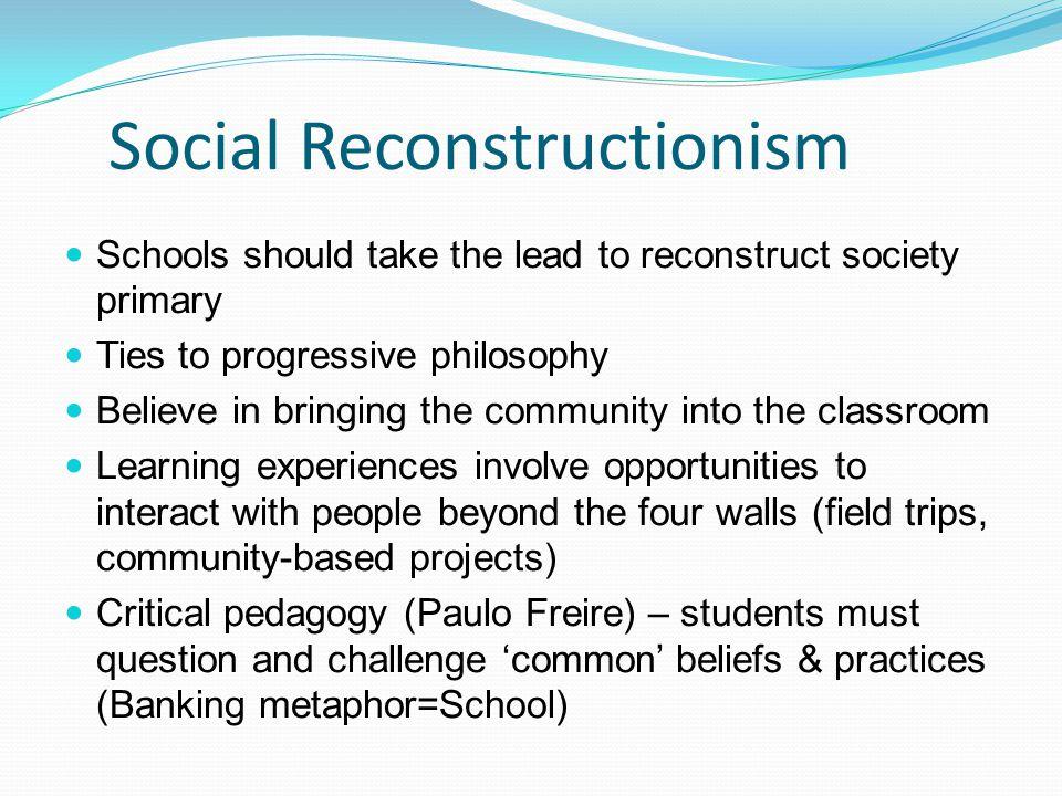 social reconstructionism