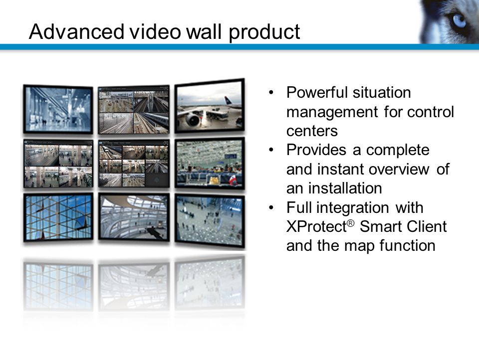 Advanced video wall product