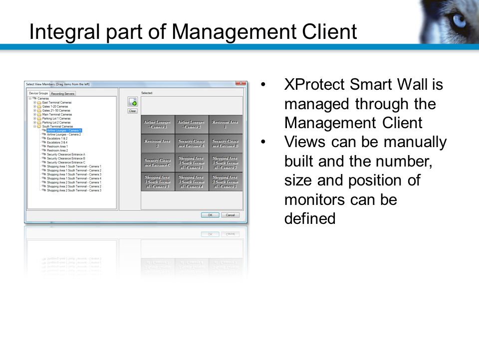 Integral part of Management Client