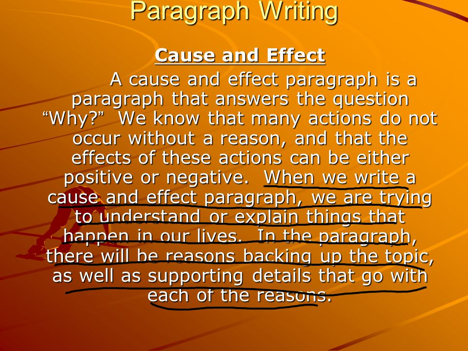"5 paragraph cause and effect essays Below is an example of a 5-paragraph ""effects essay"" your first cause or effects essay quiz"" is very soon thie in june an ""effects essay."