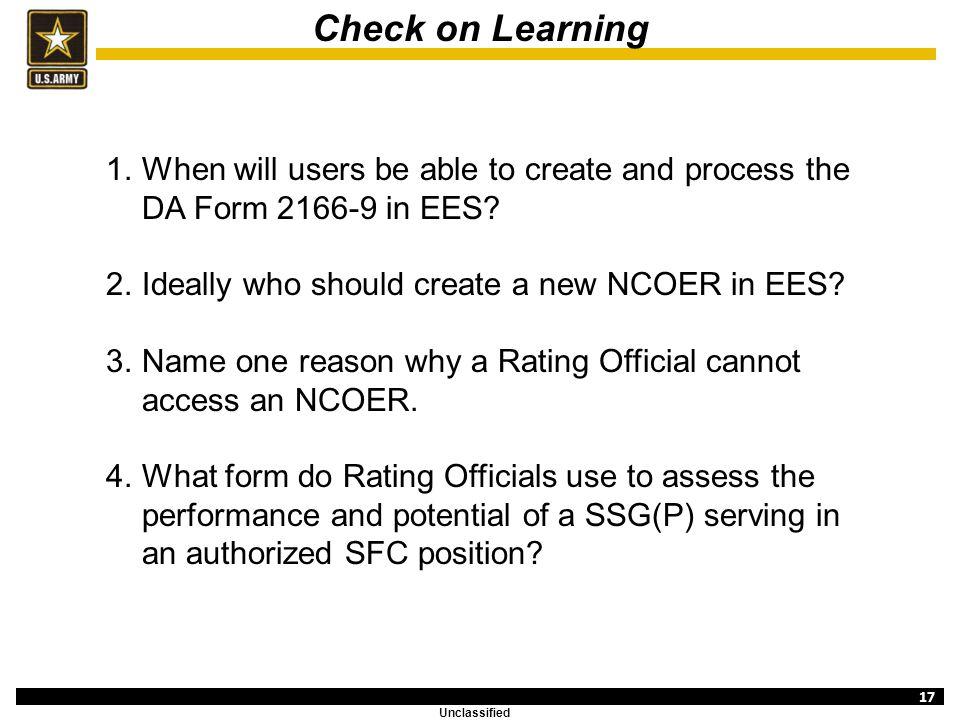 Evaluation Entry System Training (SSG – 1SG / MSG) - ppt download