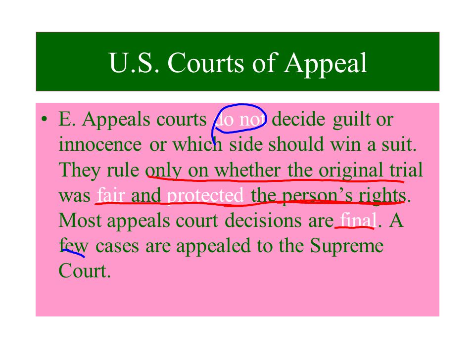 how to win an appeal case