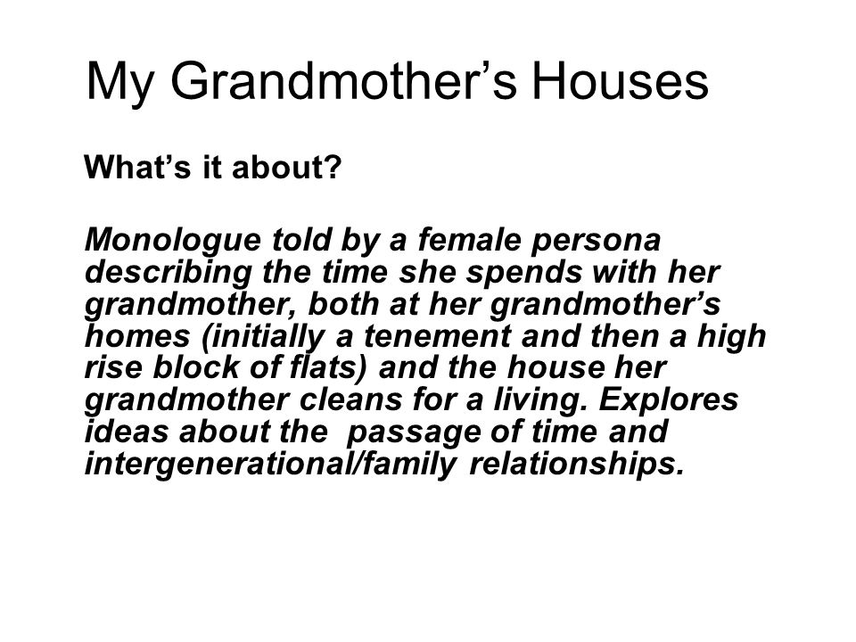 a description essay on nonis house