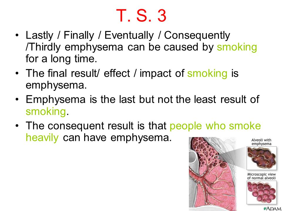 short essay cause and effect of smoking