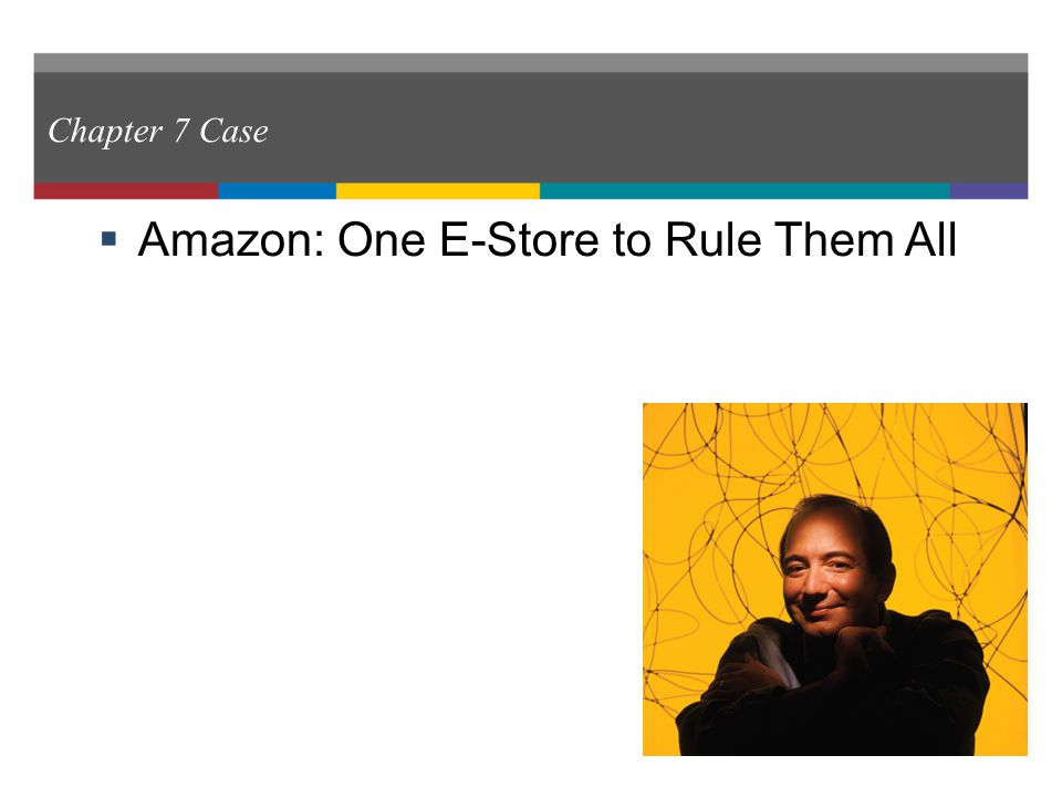 amazon one e store to rule them all case study 4 In the case of amazon the platform consists  creatives along with them amazon allows  a new one - apple and amazon are proliferating.