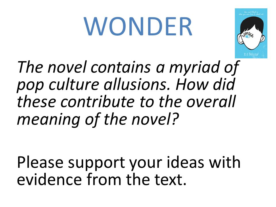 wonder about meaning