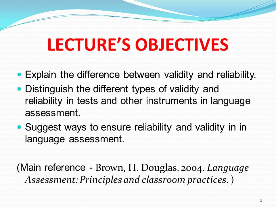 principal difference between validity and reliability Reliability, validity, and trustworthiness the difference in purposes of evaluating the quality of studies in evidence data reliability and validity, data.