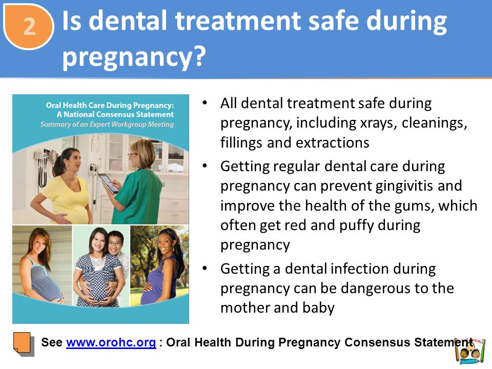 Is dental treatment safe during pregnancy