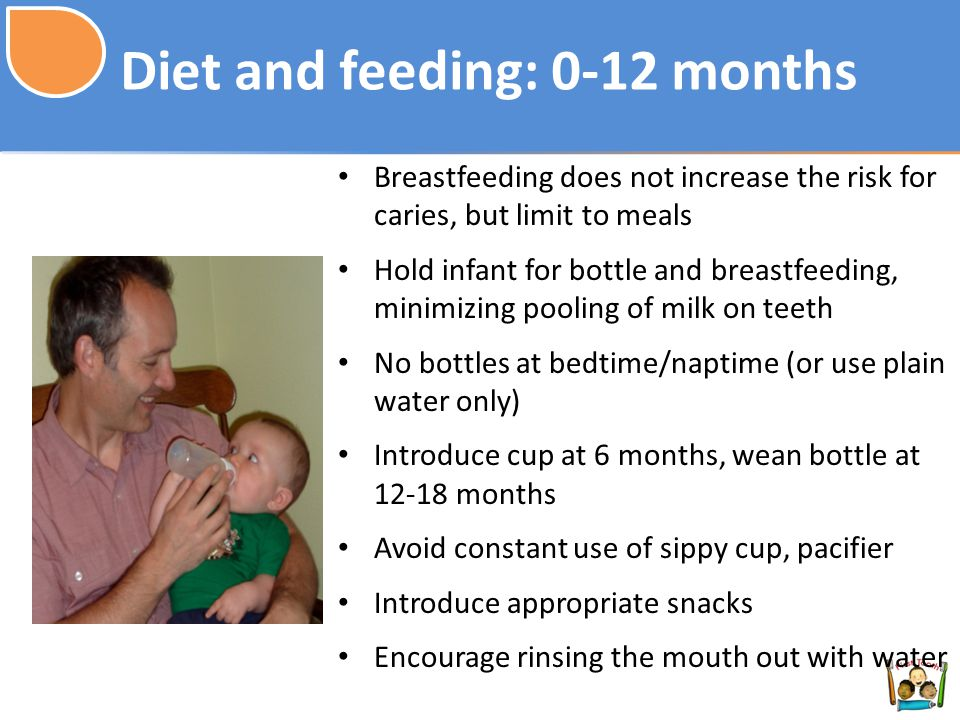 Diet and feeding: 0-12 months
