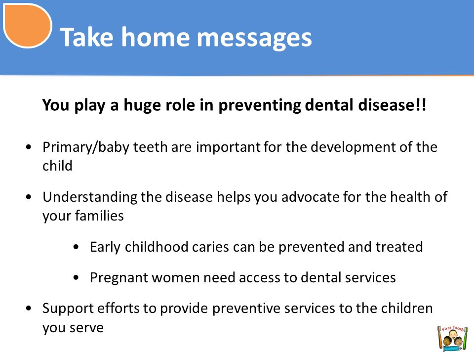 You play a huge role in preventing dental disease!!