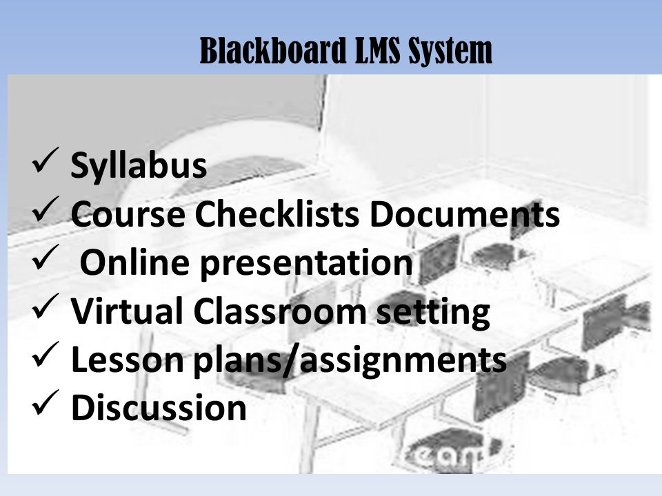 Course Checklists Documents Online presentation