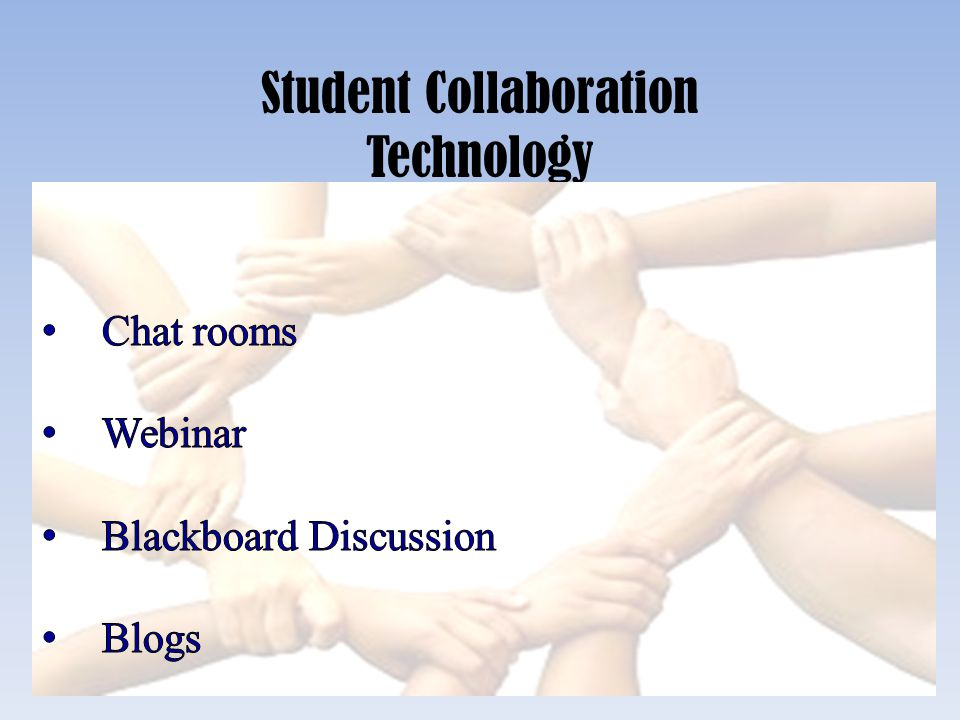 Student Collaboration Technology