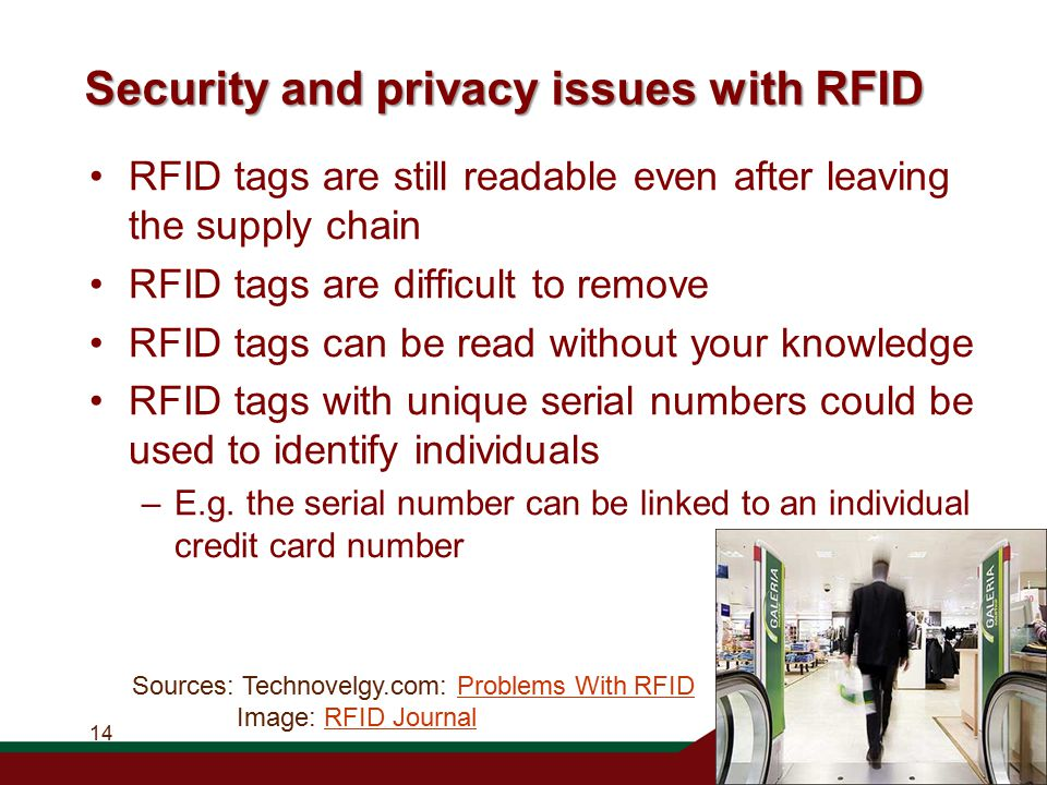 rfid tags and privacy issue Human chipping and tracking is the last and most vital privacy issue of rfid tags it is thought that eventually it will get to the point where humans are tagged in order to find them if they commit crimes, etc.