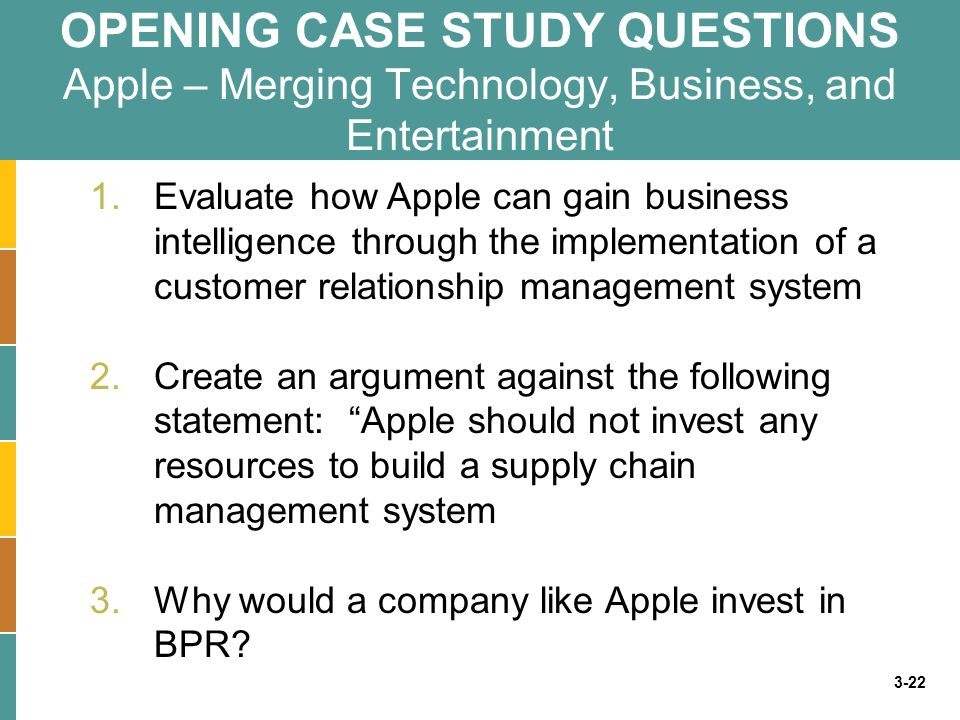 apple supply chain management case study pdf