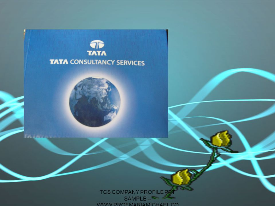 tcs company profile ppt sample --www.profmariamichael - ppt, Powerpoint templates