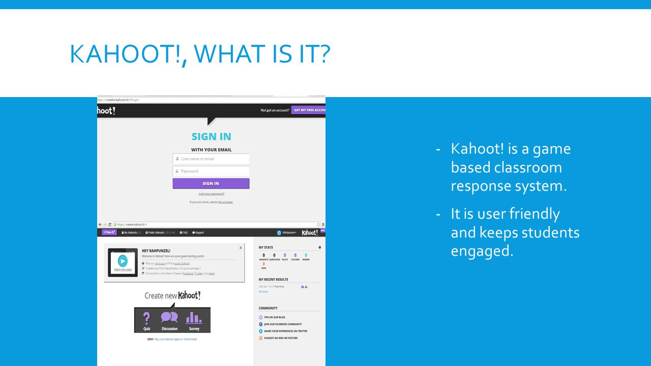 Plickers & Kahoot! Presented By: Hayley Carroll Wick Cunningham ...