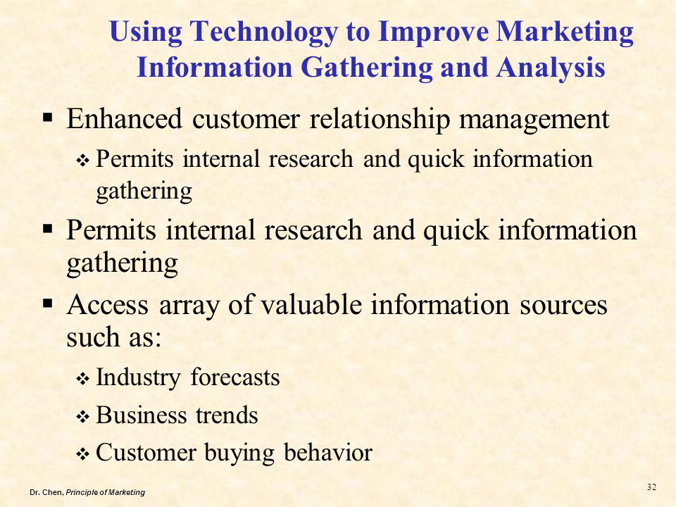 Research report on customer relationship management