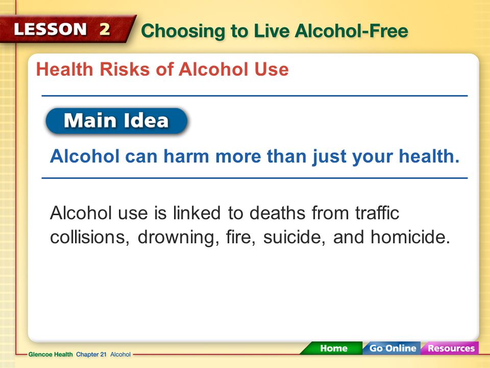 Health Risks of Alcohol Use