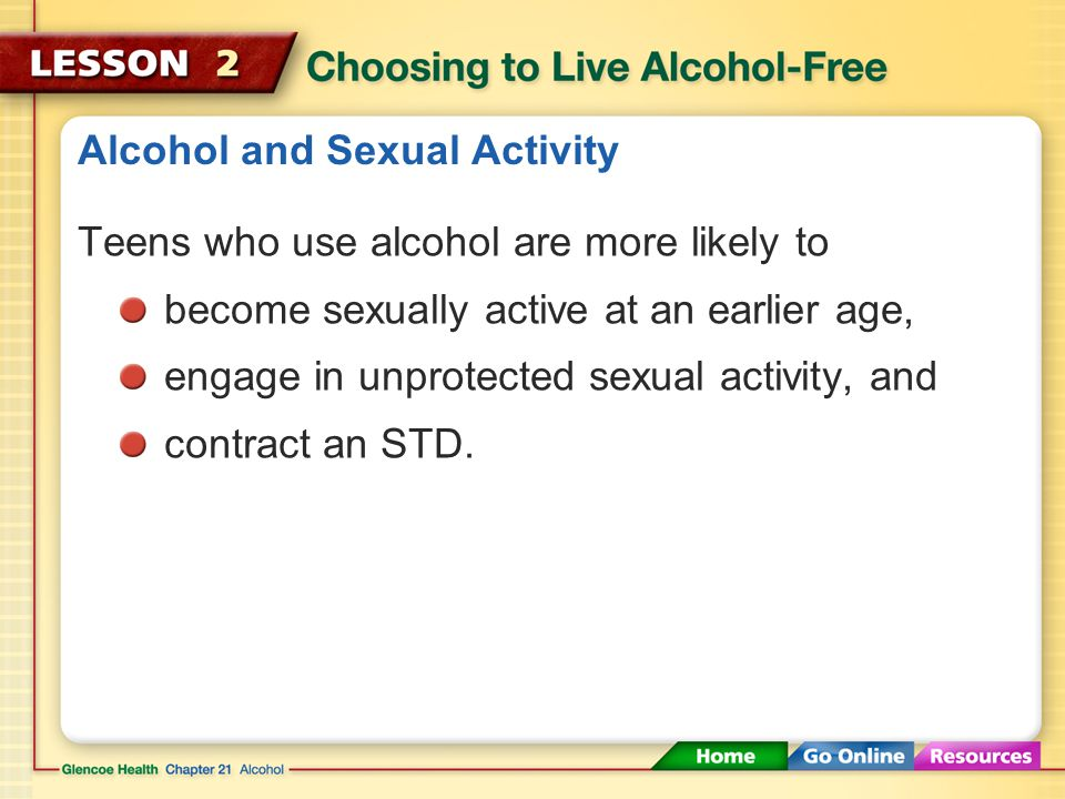Alcohol Sexual Activity 6