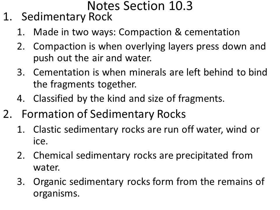 Quiz – Chapter 10 Vocab Igneous rock – define 2 points - ppt video ...