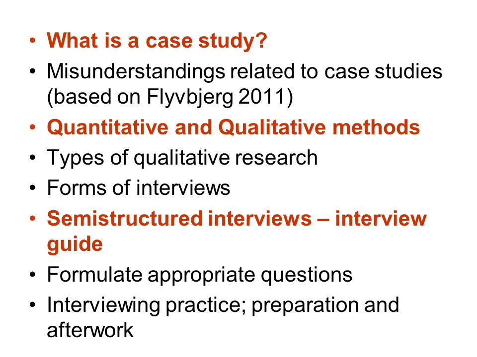 what will be a new case examine around quantitative research