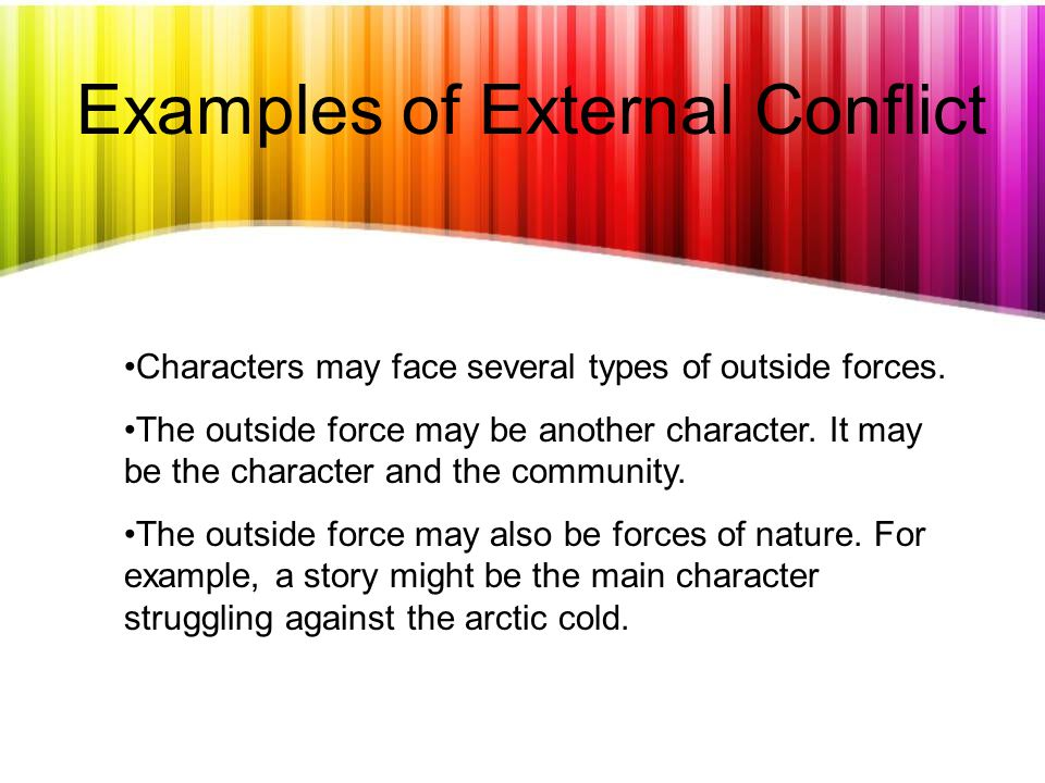 Internal and External Conflict in Literature - ppt download