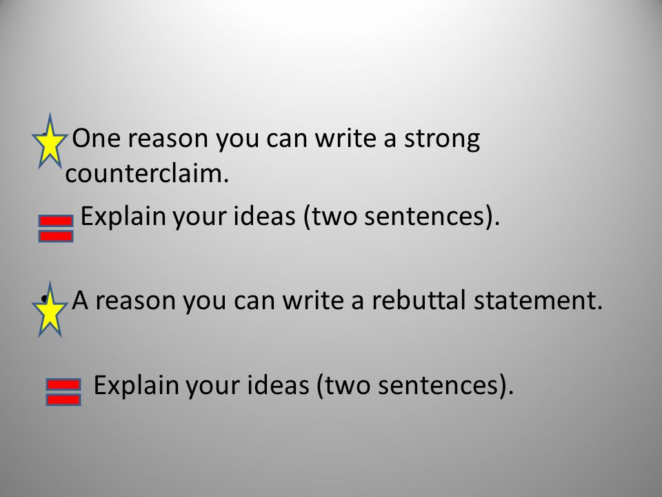 how to write an effective rebuttal