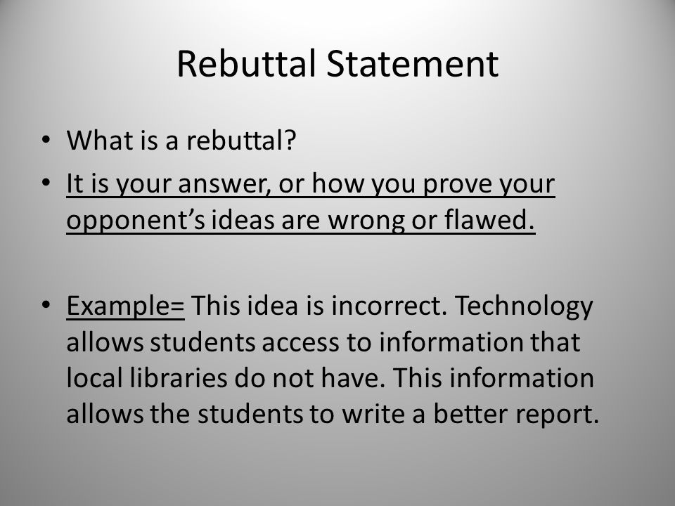 How to Write a Rebuttal Essay